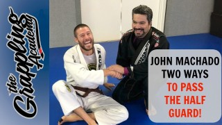 Prof John Machado – TWO WAYS to PASS the Half Guard!