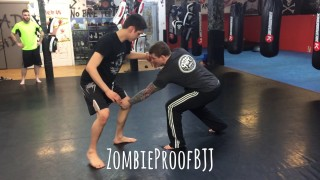 Slingshot Double Leg – Kent Peters