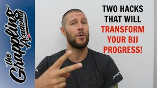Two HACKS that will TRANSFORM Your BJJ Progress!
