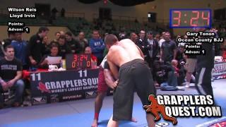 Wilson Reis vs Gary Tonon