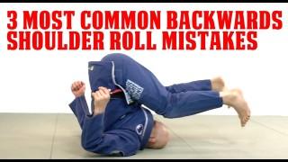 3 Most Common Backwards Shoulder Roll Mistakes – Stephan Kesting