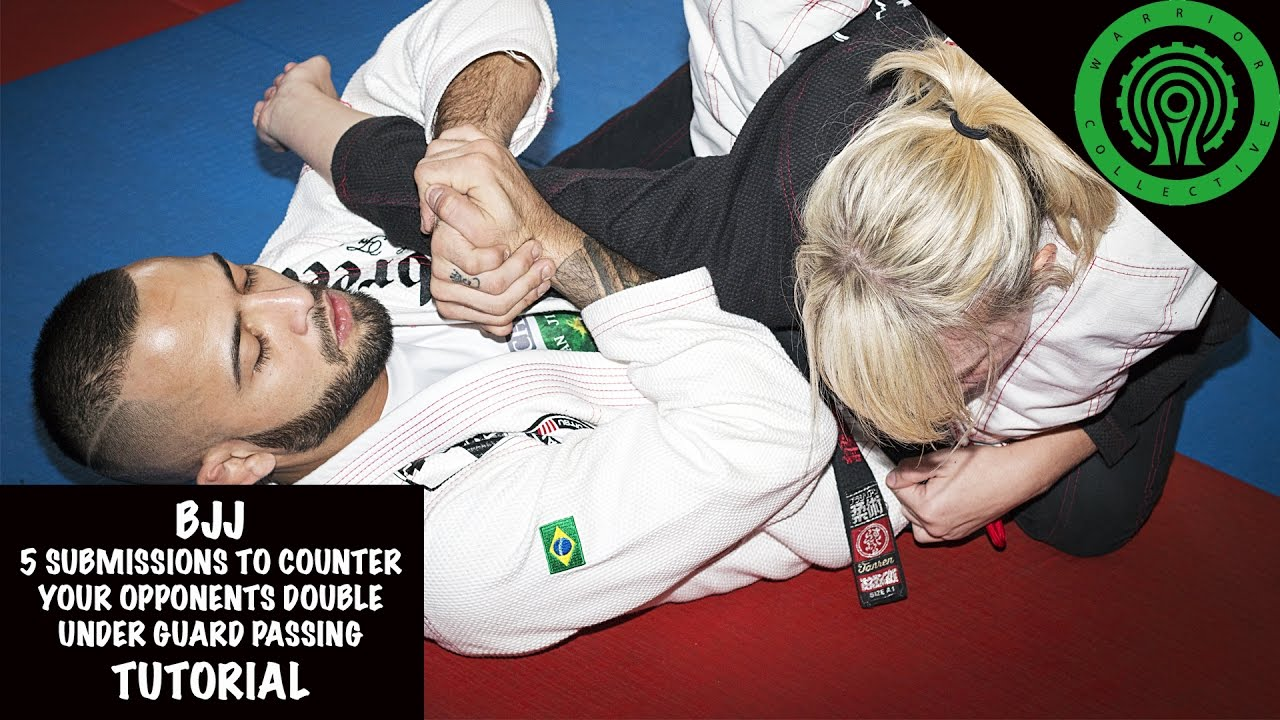 5 Unorthodox Submissions to Counter the Double Under Guard Pass  – Valmyr Neto