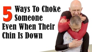 5  Ways to Choke Someone Even When Their Chin is Down – Stephan Kesting
