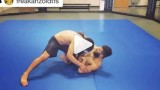 Counter For When Someone Tries To Explode Out of Omoplata -Geo Martinez