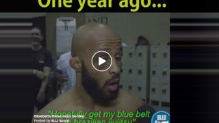 Mighty Mouse Submits BJJ Black Belt , 1 Year After Declaring His Goal Getting a Blue Belt