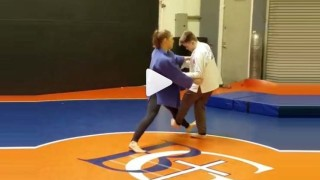 Ronda Rousey Back At Teaching Judo