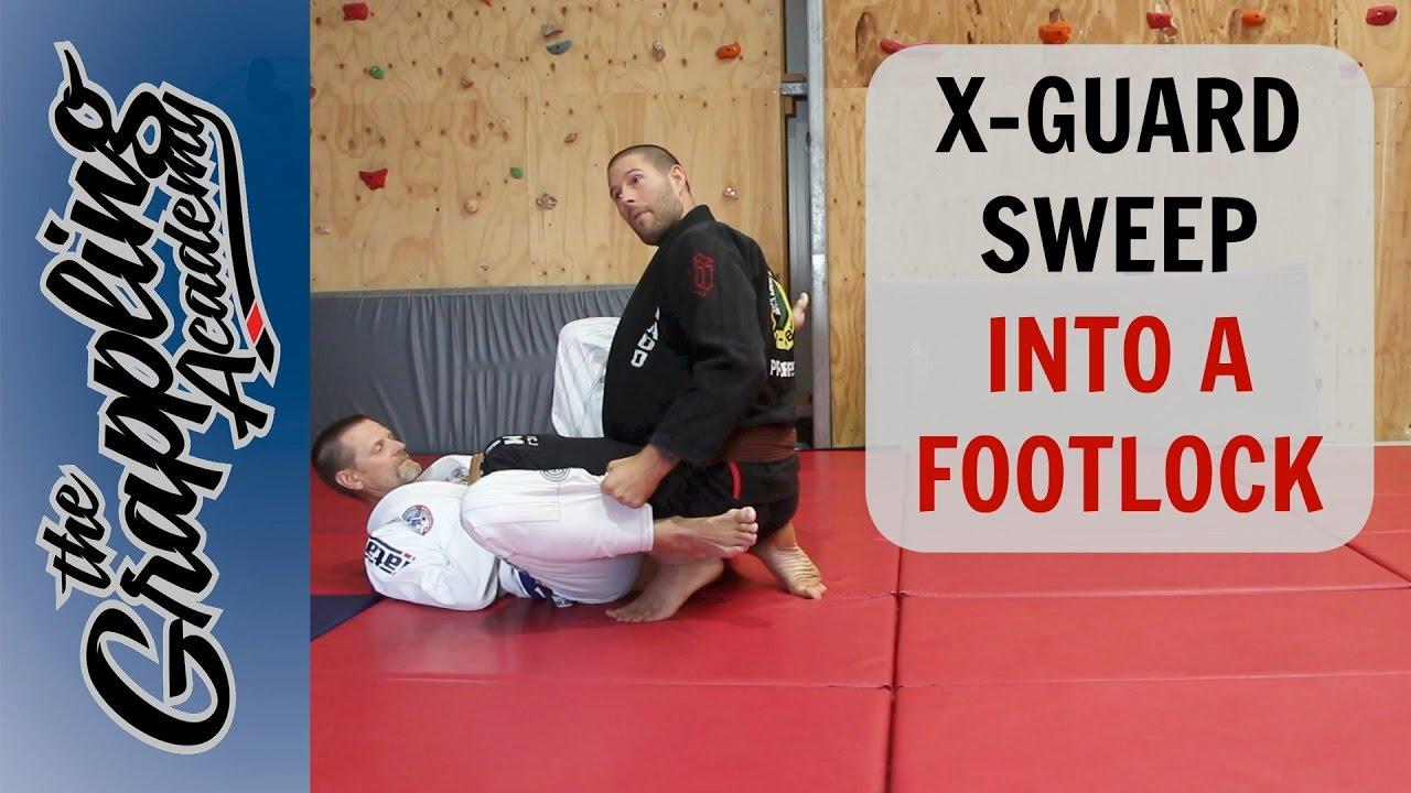 An Alternative X Guard Sweep – Into a Footlock – Tom Davey