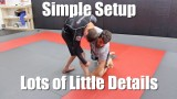 Ankle Pick Takedown for No Gi BJJ