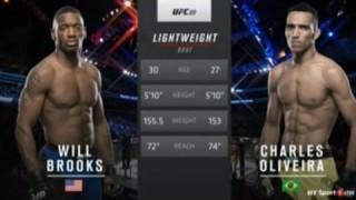 Charles Oliveira vs Will Brooks full fight UFC 210