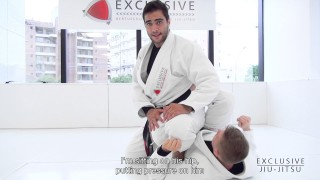 Foot Locks from the 50/50 Position – Luiz Panza