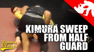 Kimura Sweep from half guard  – LI MMA
