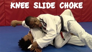 KNEE SLIDE CHOKE: Gi Choke with Tâniel Abu Bergerak