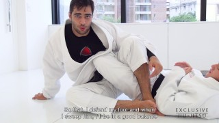 Lapel Sweep Getting the 50/50 Position – Luiz Panza