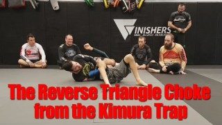 Reverse Triangle Choke from the Kimura Trap System Seminar