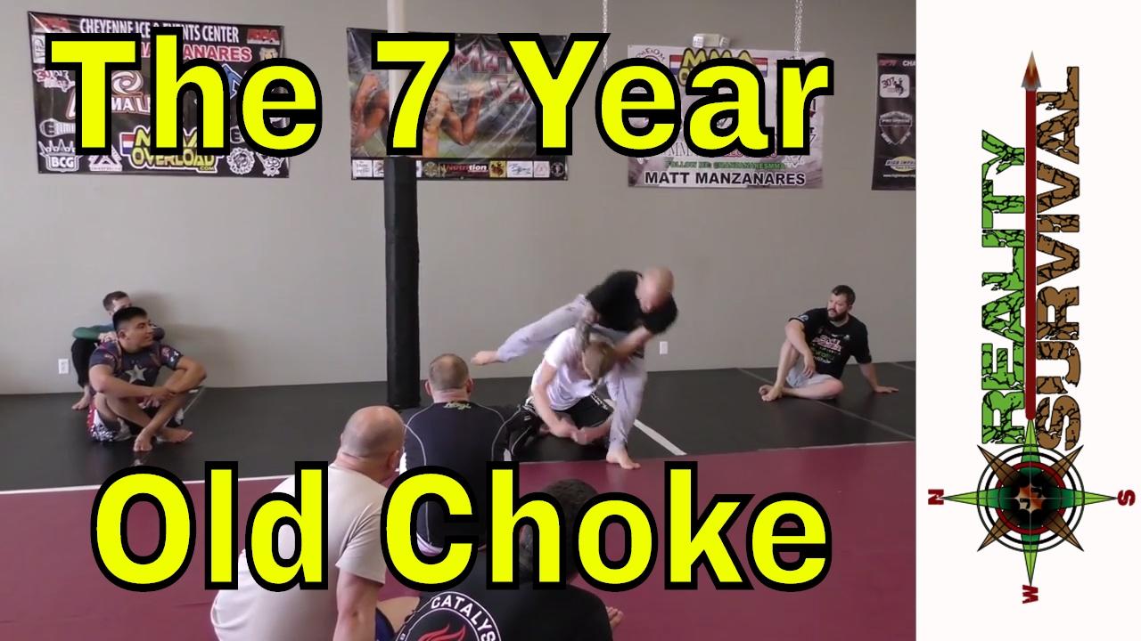 The 7 Year Old Choke – Jeff Glover BJJ Seminar
