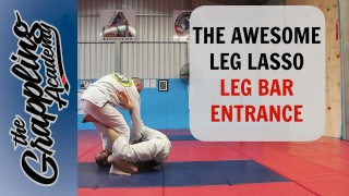 The AWESOME LEG Lasso LEG BAR Entrance! – Tom Davey