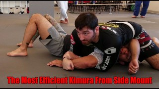 The Most Efficient Kimura from Side Mount – Kimura Trap Seminar