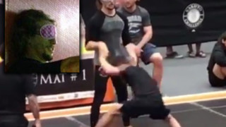 [Video] EBI 9 Competitor Competes At Local Tournament Blindfolded