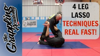 4 LEG LASSO Techniques – REAL FAST! – Tom Davey