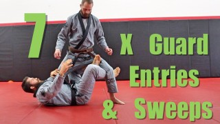 7 BJJ X Guard Drills ( Entries and Sweeps ) – Nick Albin
