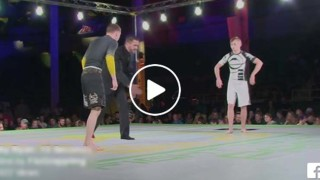 Nicky Ryan Submits Adult Opponent in 15 seconds