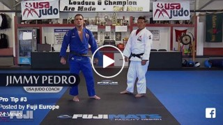 Cross Grip To Kouchi Gari to a Knee Pick- Jimmy Pedro