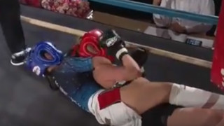 A closer look at that Rear Naked Choke 12 year old Momo used to subdue 24 year old opponent