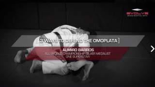 3 Ways To Defend The Omoplata In 30 Seconds – Evolve