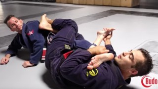 Tight Knee Bar From Reverse De La Riva- Luiz Panza