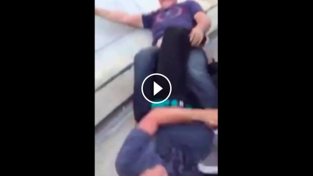 Takedown To Heel Hook in a Real Life Situation