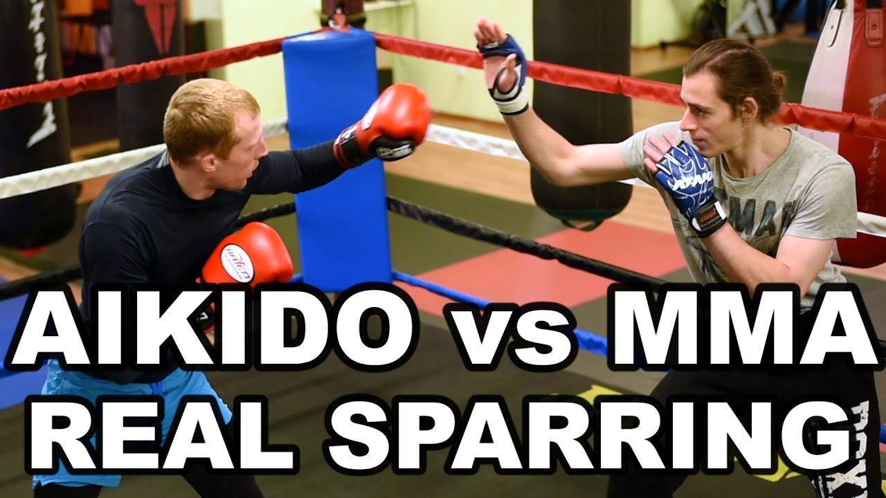 Aikido vs MMA – Finally REAL SPARRING