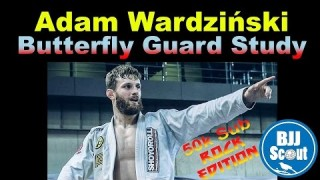 BJJ Scout: Adam Wardziński Butterfly Guard Study Part 1
