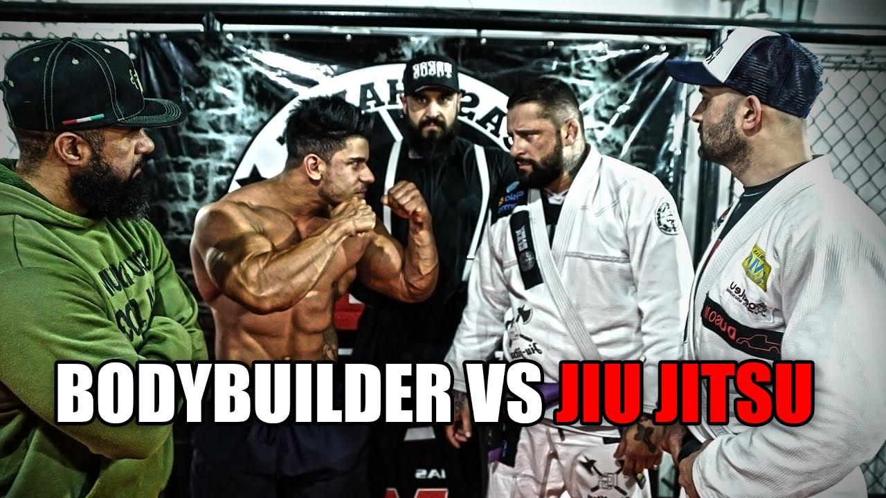 Body Builder vs Jiu-Jiteiro