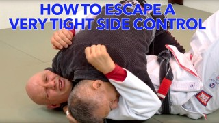 How to Escape a Really Tight Side Control –  Stephan Kesting