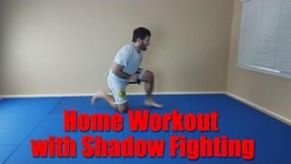No training partner? No Problem – Solo Home Workout – David Avellan