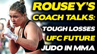 Ronda Rousey's Judo Coach Justin Flores, Earned His BJJ Brown Belt In 9 Classes Over 5 Months