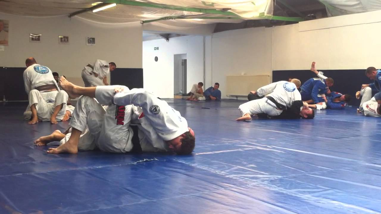 Throwback: Roger Gracie Rolling With Georges St-Pierre in Gi