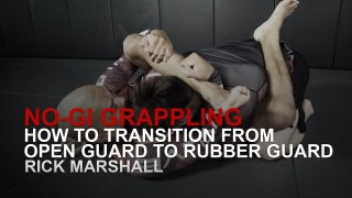 Transitioning From Open Guard To Rubber Guard – Evolve