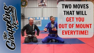 Two Moves That Will Get You OUT OF MOUNT – Every Time! – Tom Davey