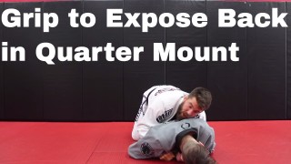Use this Wrestling Grip for Quarter Mount Control – Nick Albin