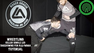 Wrestling Killer Single Leg Takedowns for BJJ / MMA – Kumbarov