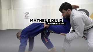 X Guard Sweep to Back Take -Matheus Diniz
