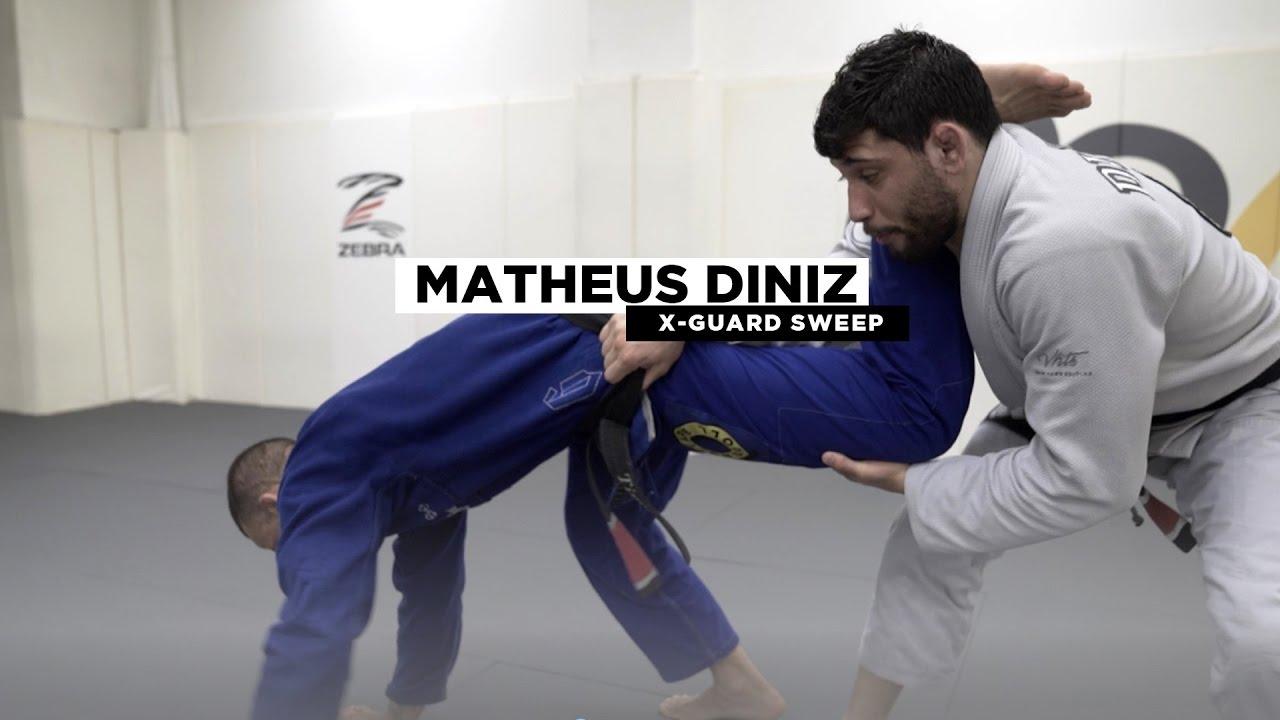 X Guard Sweep to Back Take -Matheus Diniz