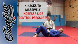 4 Hacks To Increase Side Control Pressure – Tom Davey