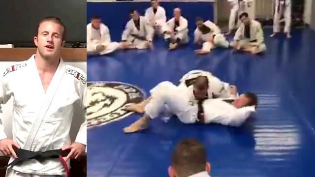 Side Control Escapes With Famed Actor and BJJ Black Belt Scott Caan