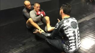 Eddie Bravo Teaching MMA Prospect Aaron Pico at 10th Planet