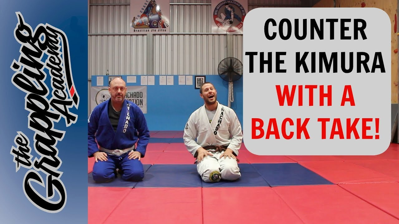 Countering the Kimura – With A Back Take! – Tom Davey