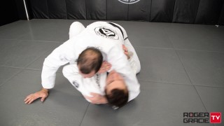 Half/Butterfly Guard Pass to Mount- Roger Gracie
