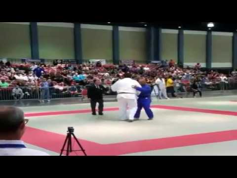 Hector Lombard Faced a 7 Footer in Judo Competition