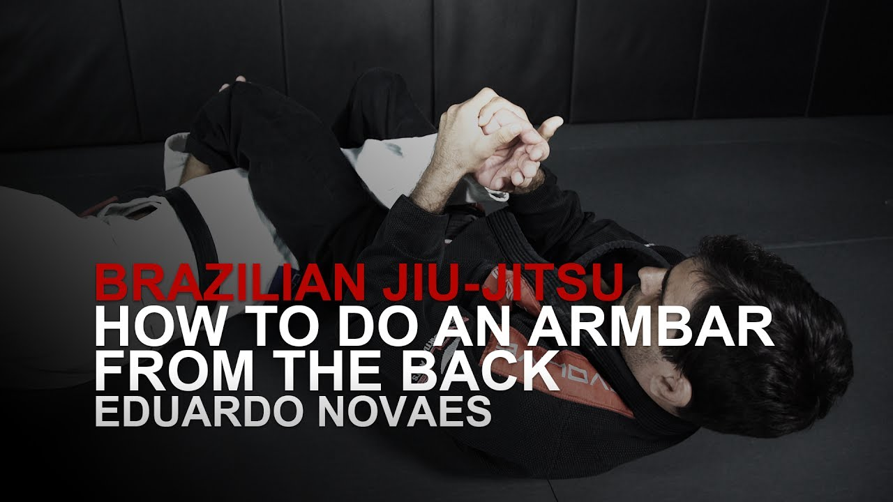 How To Do An Armbar From The Back | Evolve